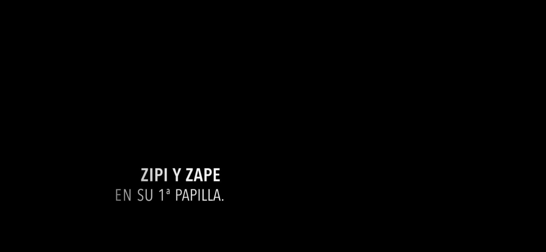 Zipi y Zape en su 1ª papilla.